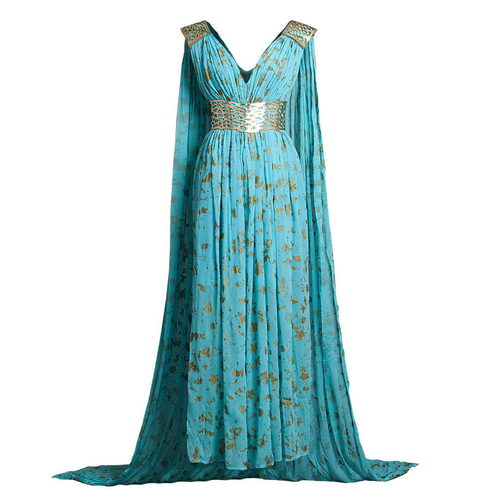 Lovely Second Season Daenerys Targaryen Blue Dress