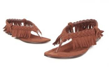 Great Women's Braided Moccasin Sandal