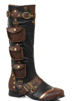 Men's Awesome Steampunk Knee High Boot