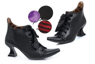 Witchy Goth Spool Heel Shoes