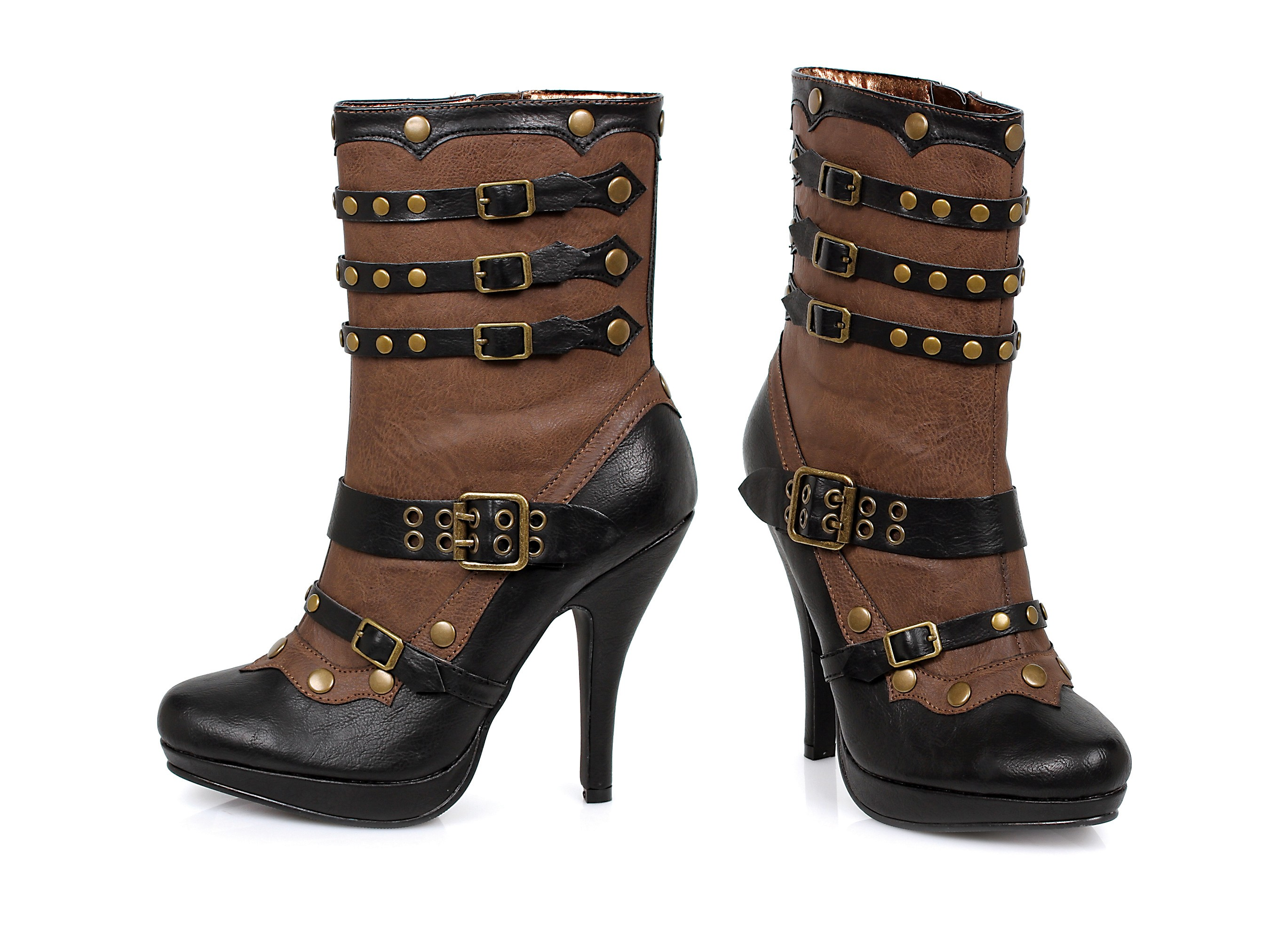 Sweet and Funky Women's Steampunk Booties