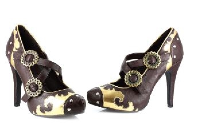 Women's Pretty Funky Steampunk High Heels