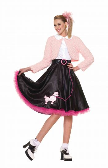 Sweet 50's Poodle Dress Costume Outfit