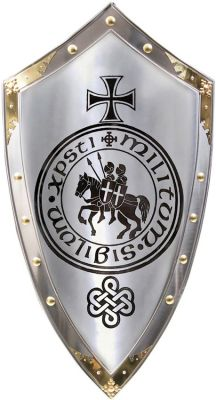 Spanish Knights Templar Shield