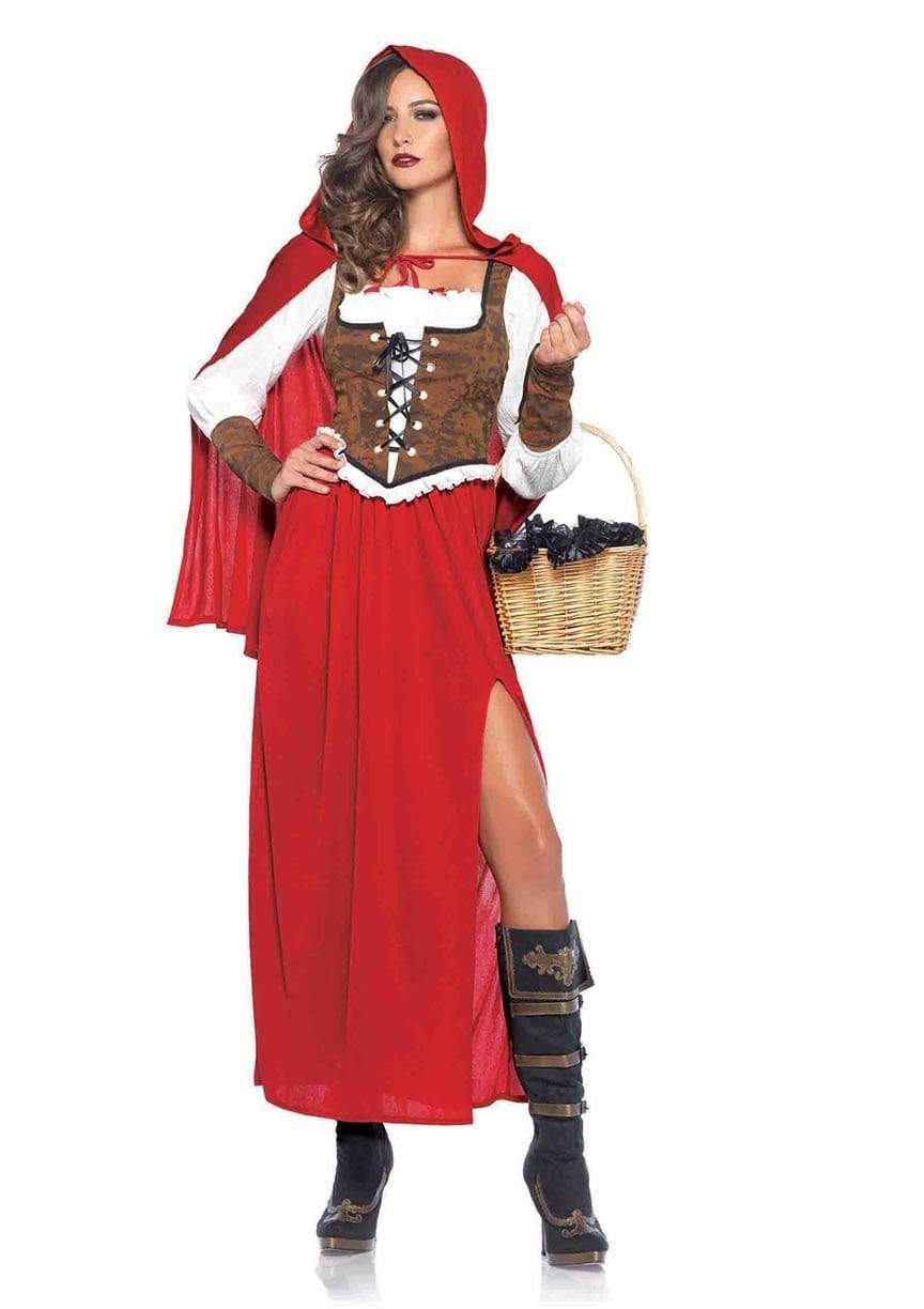Women's Woodland Beauty Red Riding Hood Costume