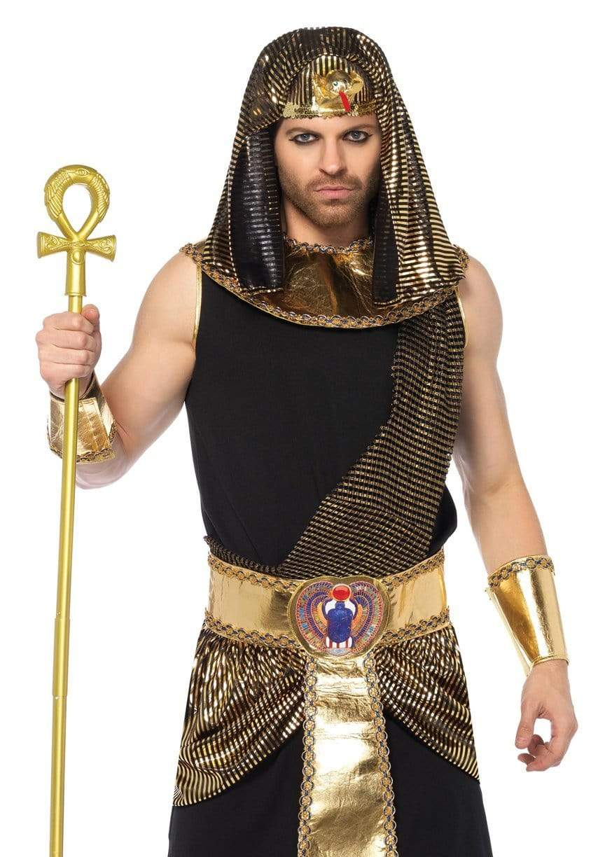 Men's 5 Piece Egyptian Costume
