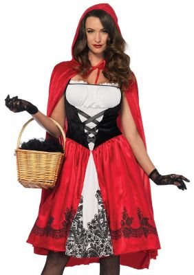 Women's Classic Little Red Riding Hood Costume