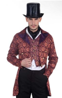 Steampunk Gentleman Opera Coat Costume