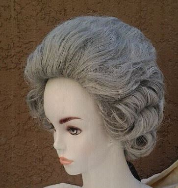 Fine 18th Century Costume French Count Wig