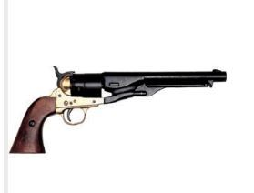 M1861 Navy Issue Revolver - Brass