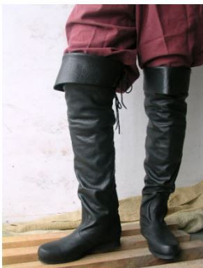 JOLLY ROGER PIRATE BOOTS