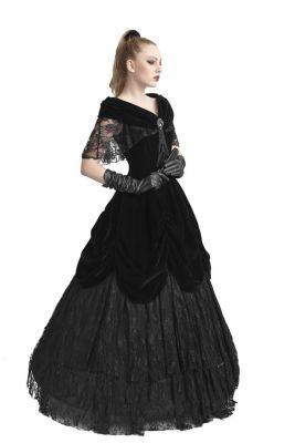 Drop-Dead Gorgeous Black Goth Dress
