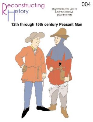 12TH THROUGH 16TH CENTURY PEASANT MAN PATTERN