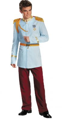 Men's Fairytale Prince Charming Costume