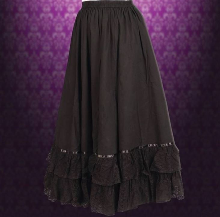 Incredible Steampunk Reversible Parlor Skirt
