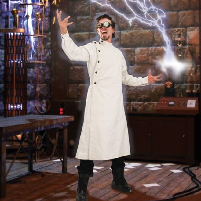 Steampunk Mad Scientist Victorian Lab Coat