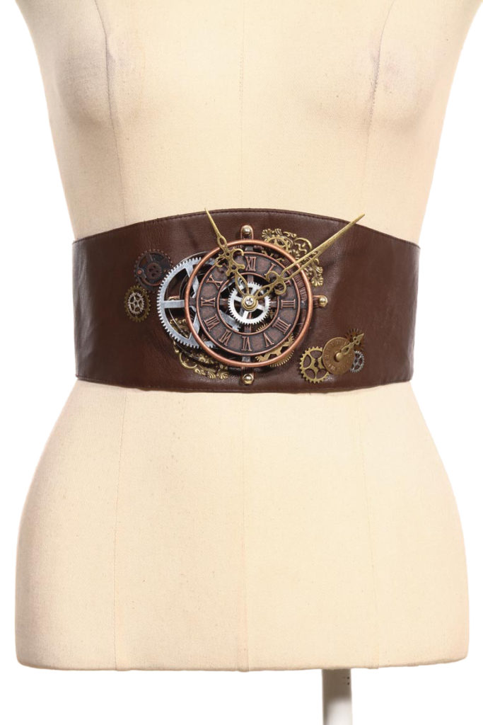Women's Brown Steampunk Belt