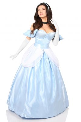 Cinderella Inspired Princess Corset Costume