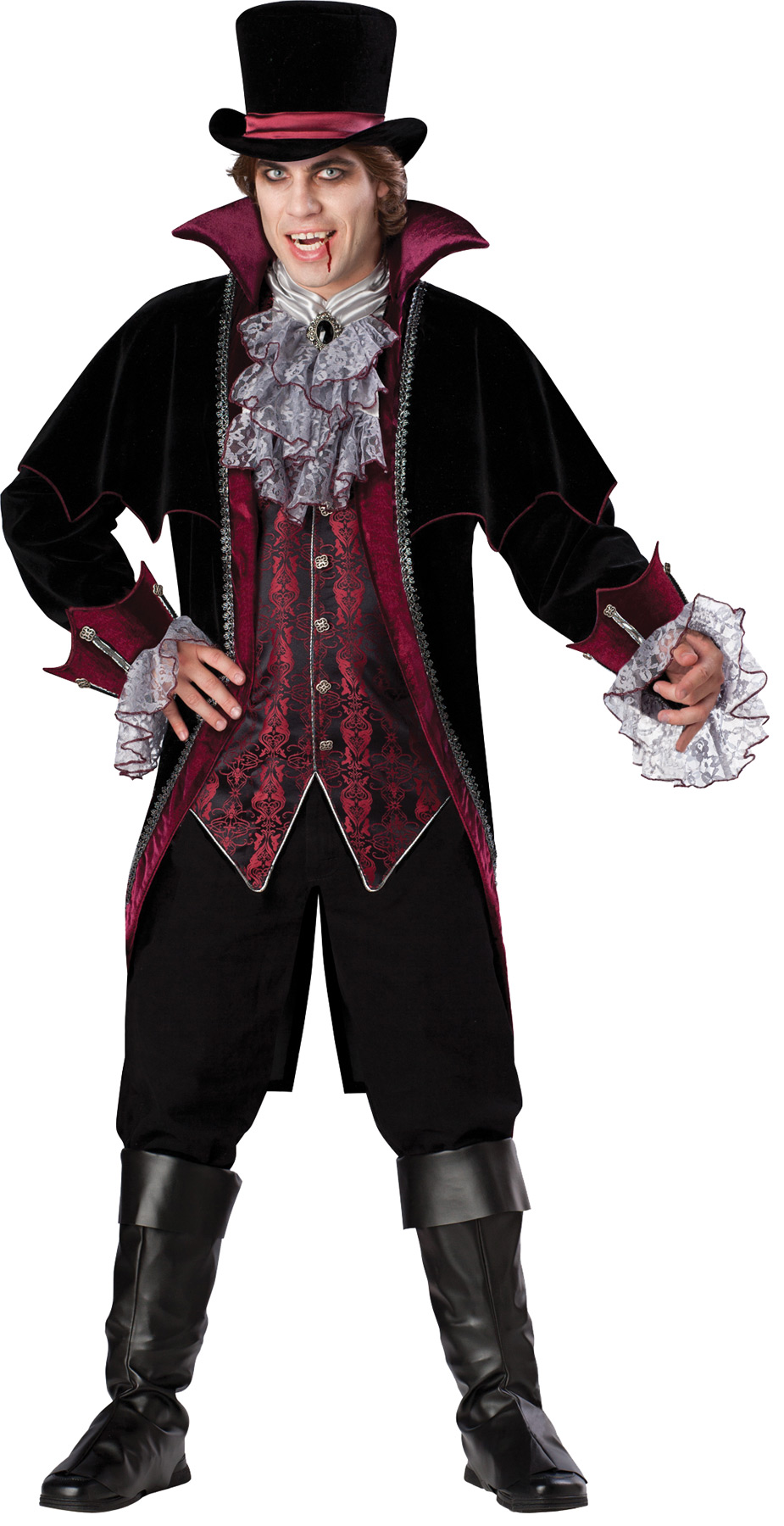 Men's Classic Vampire of Versailles Costume
