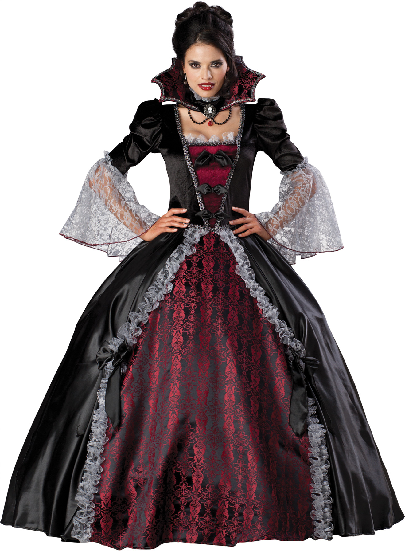 Regal Vampiress of Versailles Costume