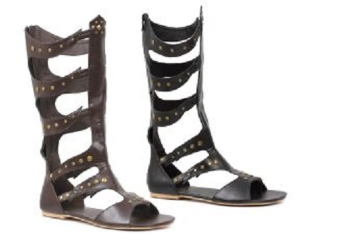 Men's Knee-high Roman Warrior Sandals