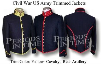 Civil Enlisted US Services Trimmed Shell Jacket