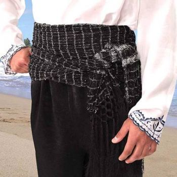 Historical Style Pirate and/or Gypsy Sash with 5 Color Options