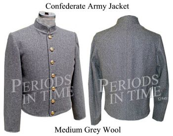 Civil War Confederate Uniform Jacket