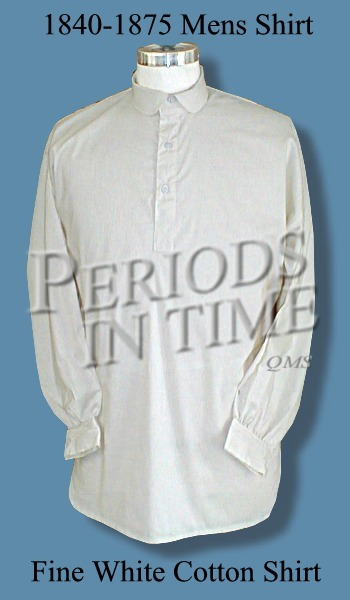 1840-1875 Cotton Shirt