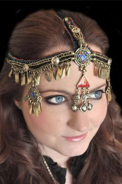 Belly Dancer or Gypsy Tribal Head Piece