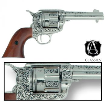 Engraved Classic M1873 Fast Draw Revolver