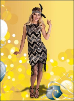 Super Cute Flapper Beaded Dress