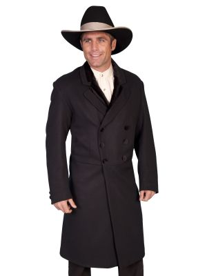 Old West Men's Frock Coat