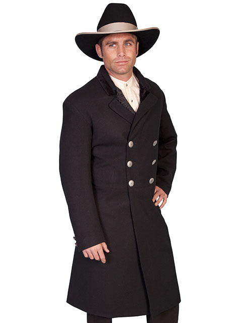 Old West Double Breasted Frock Coat