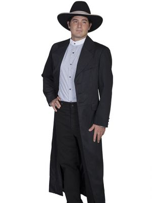 Men's Authentic Old West Long Frock Coat