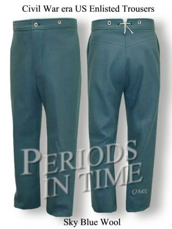 Civil War Union Trousers