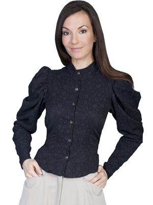 Ladies Authentic Old West Victorian Blouse