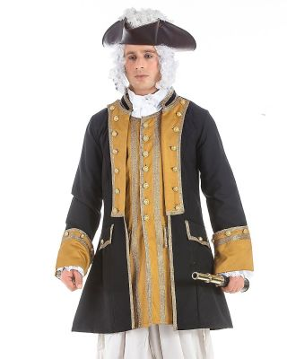 Handsome Norrington Commodore Costume Coat