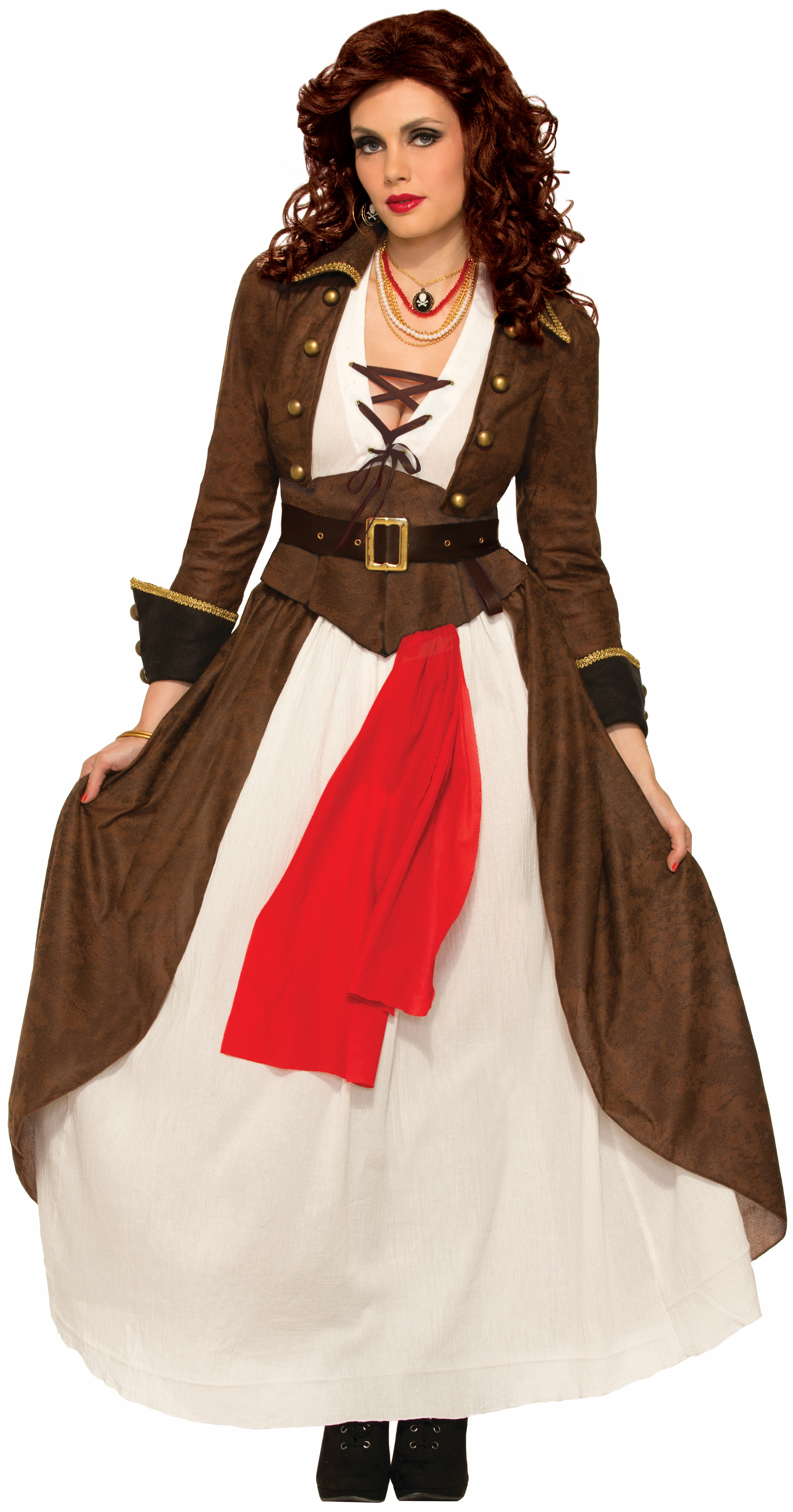 Womens Costume Pirate Adventuress Dress