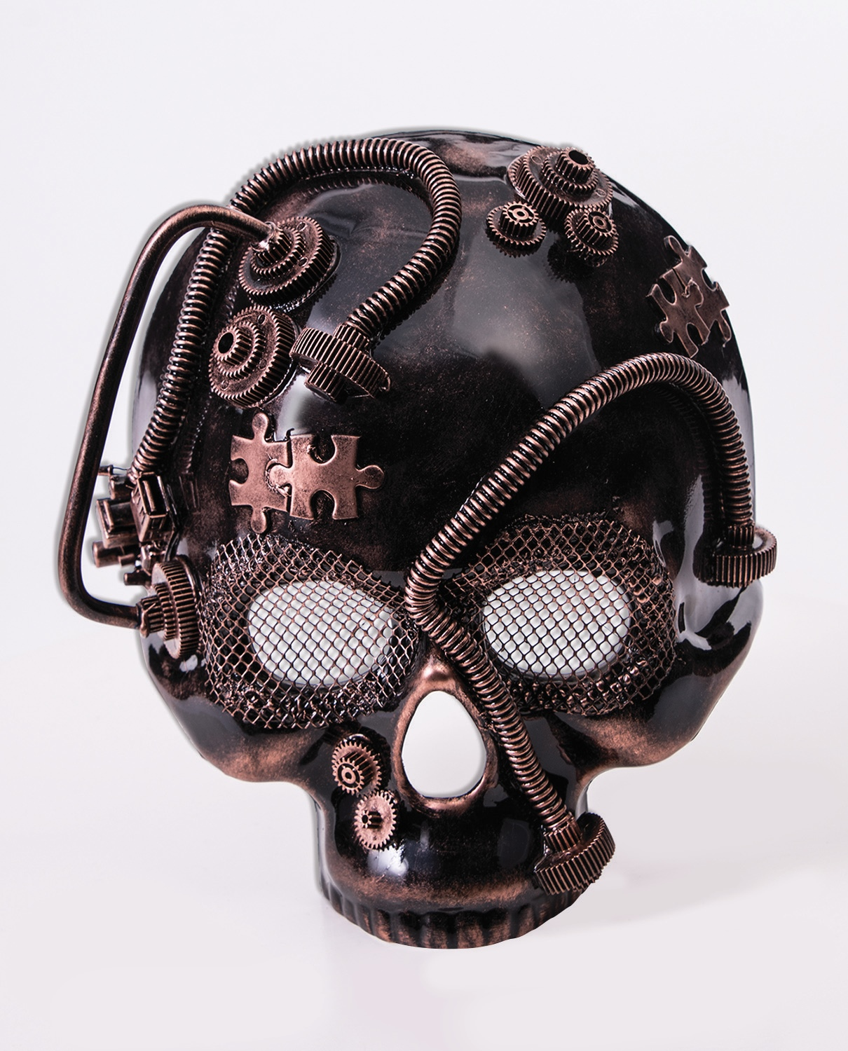 Magnificent Industrial Steampunk Skeleton Mask