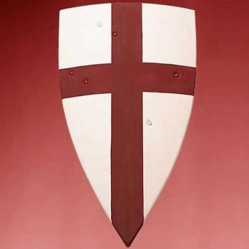Crusader Wooden Shield