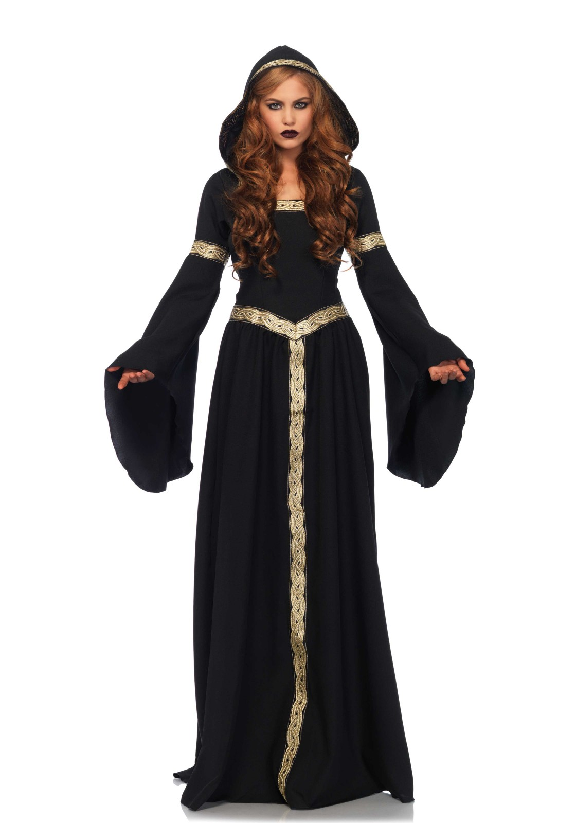 Beautiful Medieval Celtic Pagan Witch Costume