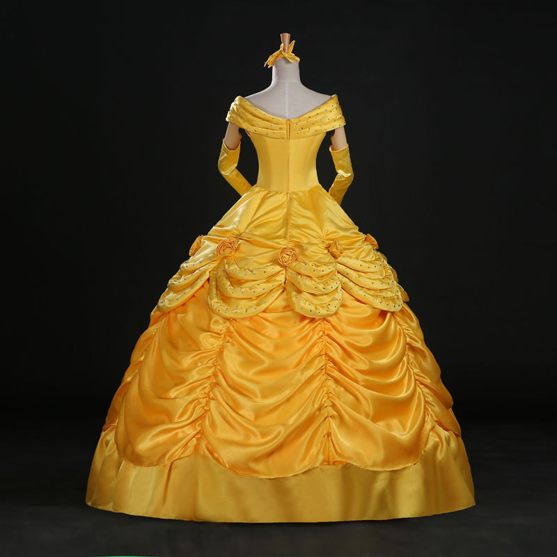 Adult Yellow Belle Dress | Beauty and the Beast Costumes