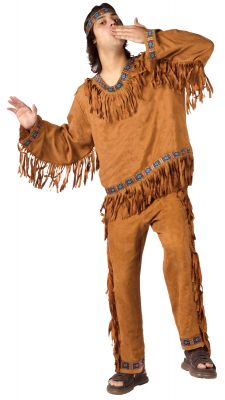 American Indian Man 3-Piece Costume