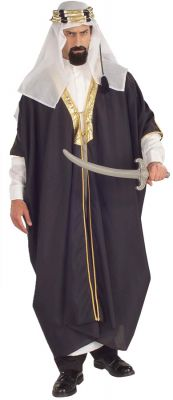 AUTHENTIC 3 Piece ARAB SHEIK COSTUME