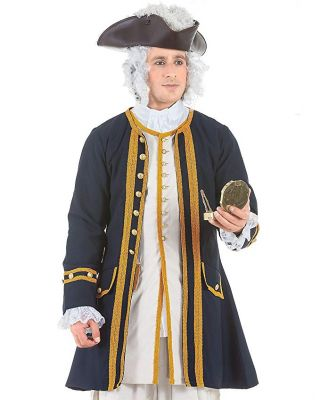 Impressive Admiral Norrington Coat Styled Coat