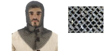 Squire Grade Aluminum Chainmail Coif