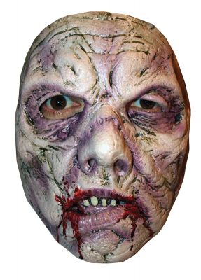 WALKING DEAD BLEEDING ZOMBIE MASK