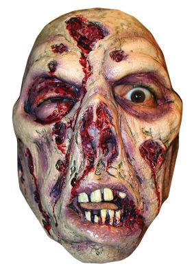DECAYING WALKER ZOMBIE MASK