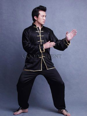 Black Kungfu Suit